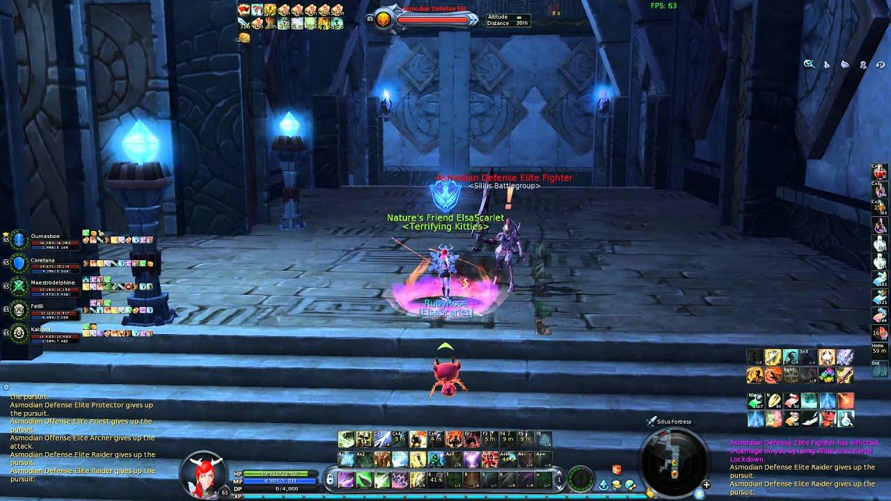 AION 4.3 Templar Elsa - Stubborn Spirit 下段防禦